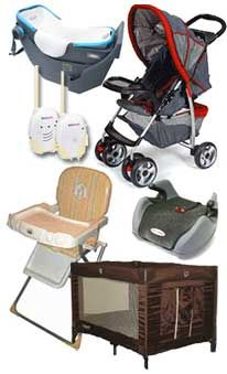Baby equipment:  pros and cons