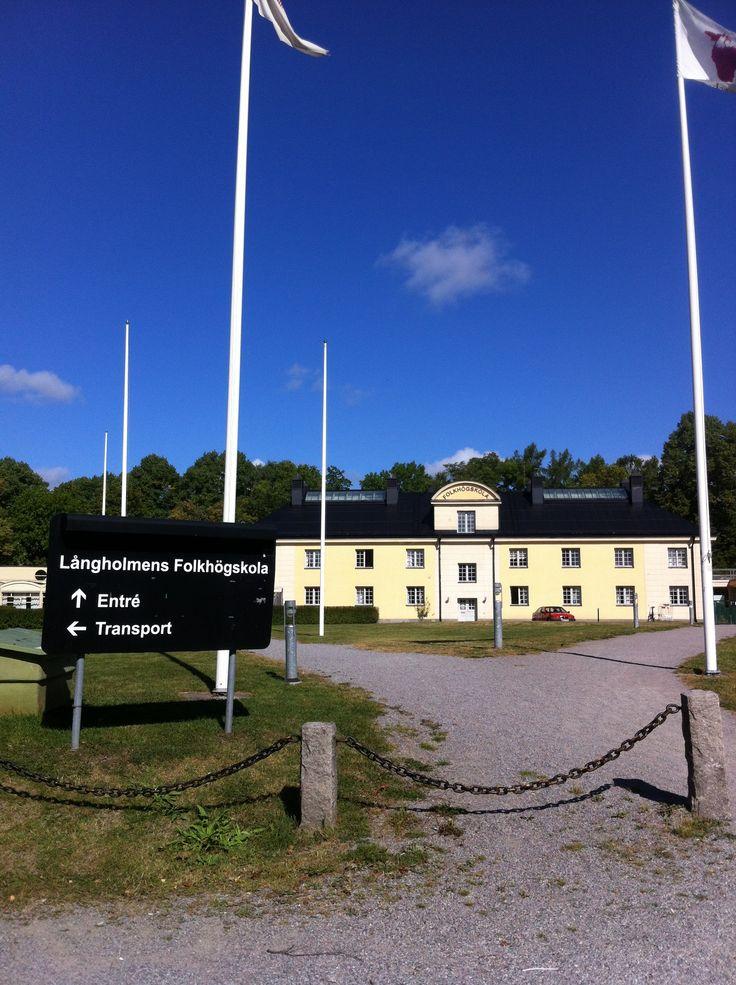 Långholmen island in Stockholm - more Swedish travel on http://inredningsvis.se/  #sweden #travel #stockholm