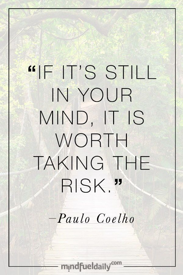 6 Excellent Quotes About Taking Risks In Life Mind Fuel Daily Taking Risks Quotes Taken Quotes Risk Quotes