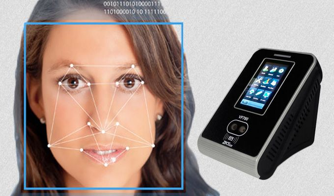 ZK VF780. Facial Recognition system. http://www.totalitech.com/product/biometric-authentication-system/