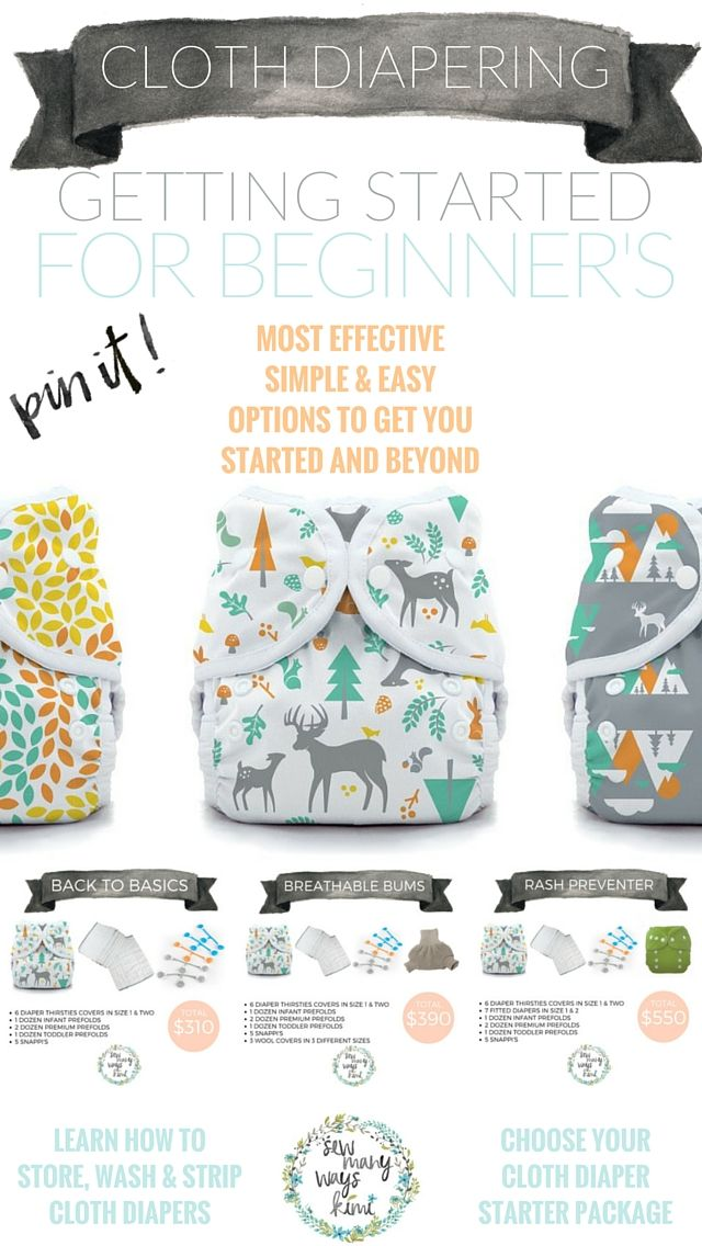 It's not as hard as it seems! Learn how to get started cloth diapering and keep it going with more little ones to come! Great for beginners! Learn how to wash them, where to store them, and how to strip cloth diapers for clean fresh diapers.
