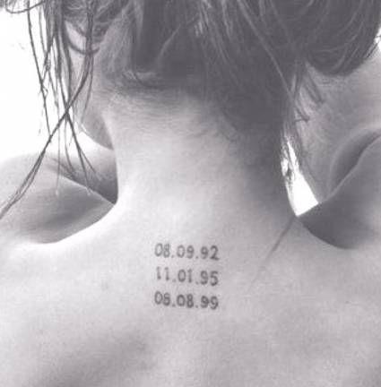 Best Tattoo Frauen Datum Eltern 50 Ideas – Tattoo