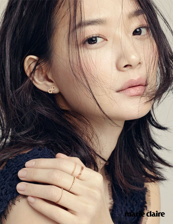 kmagazinelovers:  Shin Min Ah - Marie Claire Magazine May Issue '15