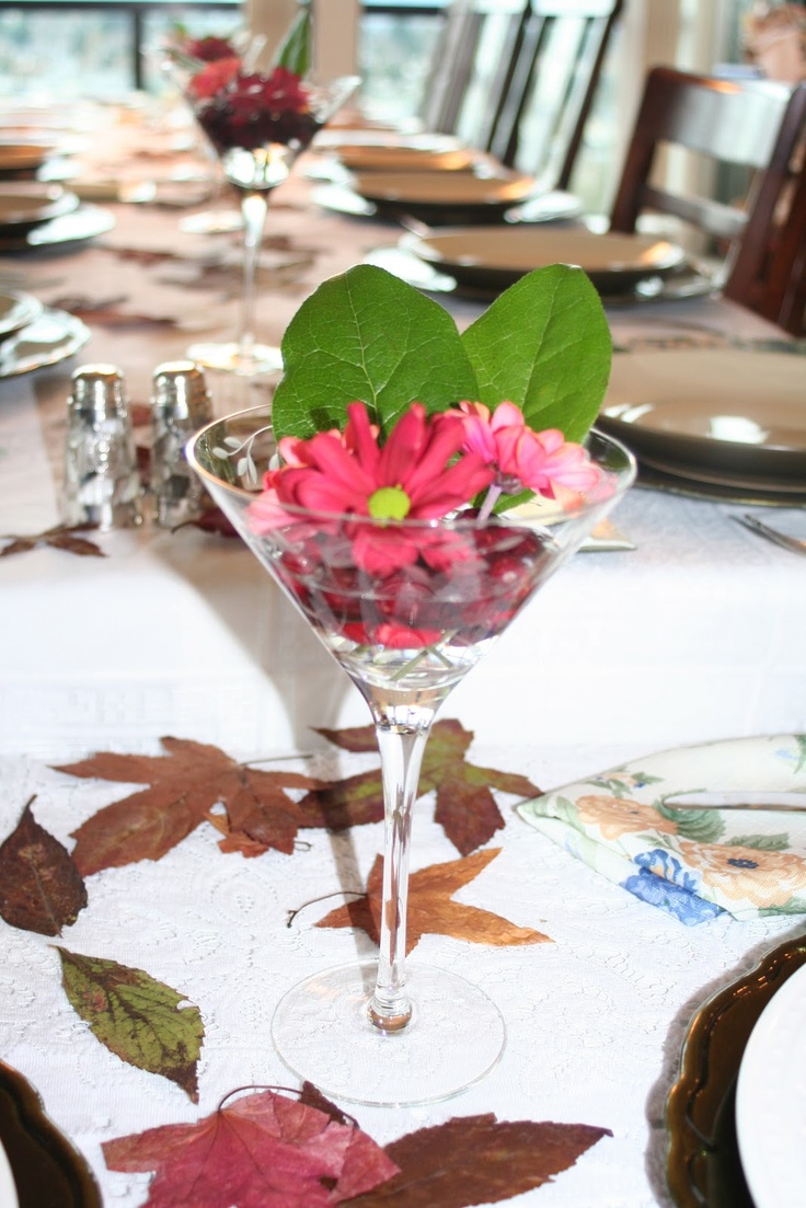 45 best martini vase flowers images on pinterest flower cranberry and flower centrepieces in a martini glass so simple so elegant reviewsmspy