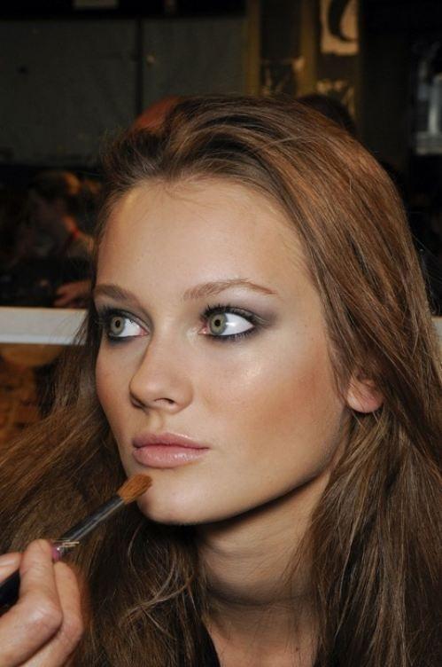 Monika Jagaciak Makeup #Trends. Soft and Shinning #Makeup #Fashion.