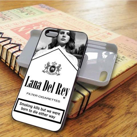 Lana Del Rey Cigarettes iPhone 5C Case