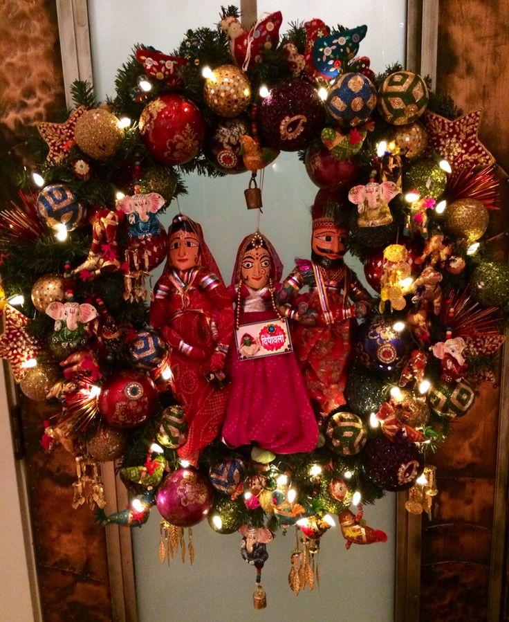Diwali Wreath...why not?!?