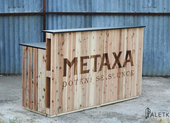 Bar for Metaxa event - outsite