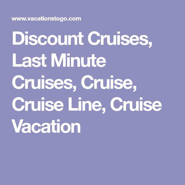 Discount Cruises, Last Minute Cruises, Cruise, Cruise Line, Cruise Vacation