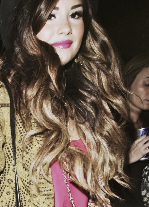 demi lovato brown hair tumblr - photo #17