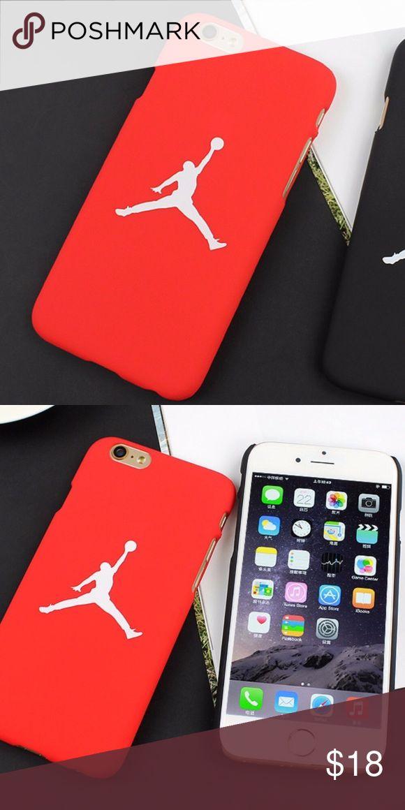 NEW IPhone 7 Red Jordan Phone Case