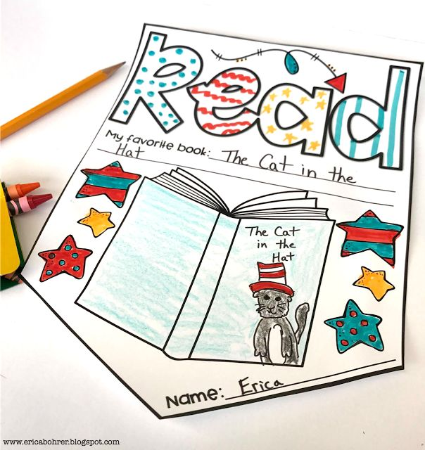 Read Across America Ideas | Erica's Ed-Ventures
