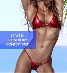 Honey We're Healthy: Bikini Contest Prep // THE PLAN [ Waterbabiesbikini.com ] #Competition #bikini #elegance