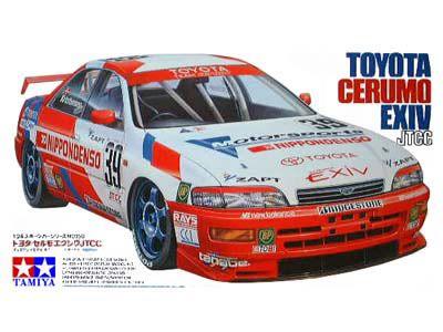 Boxart Toyota Cerumo 24158 Tamiya