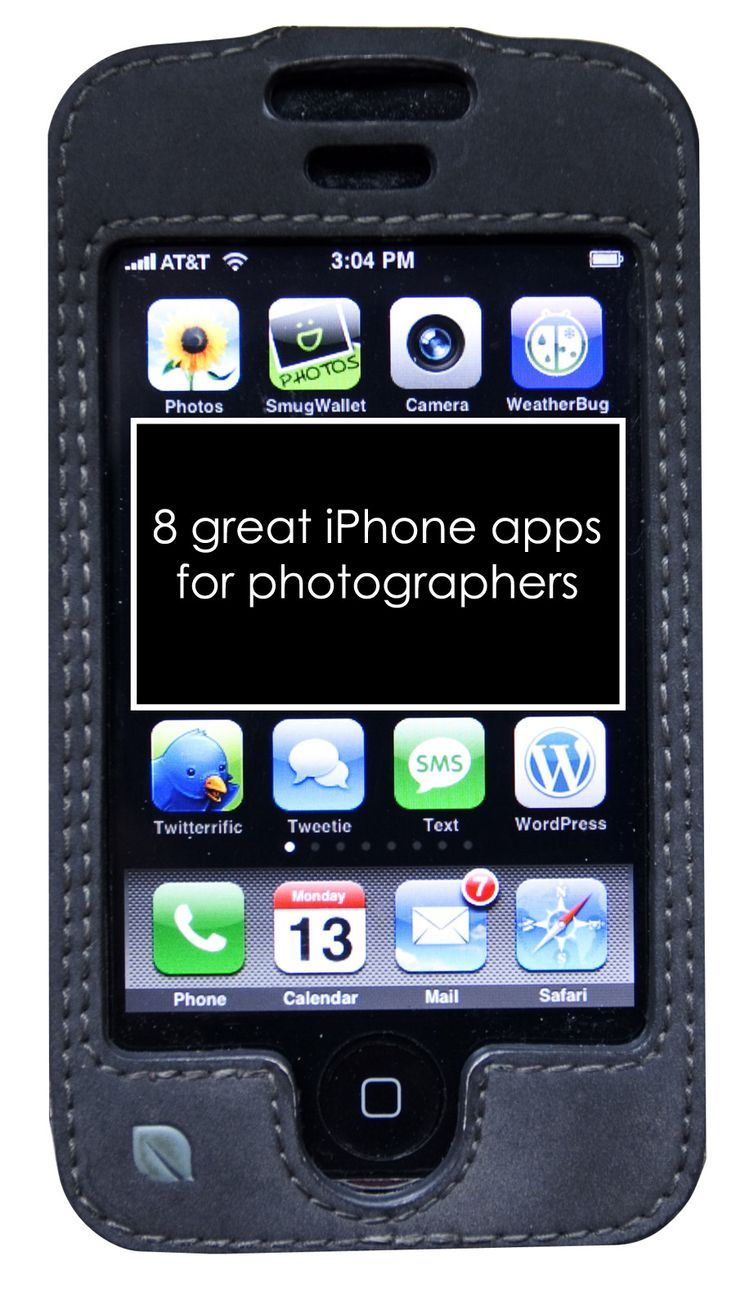 8 Great iPhone Apps for Photographers. @Caylan Vanaman you'll need this for when you get your iPhone!