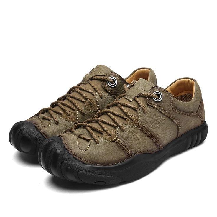 ZUNYU Nuevos zapatos de cuero genuino para hombre Zapatos casuales cómodos Hombres Moda Pisos transpirables Hombres Zapatillas de deporte zapatillas hombre   – Shoes Sneakers