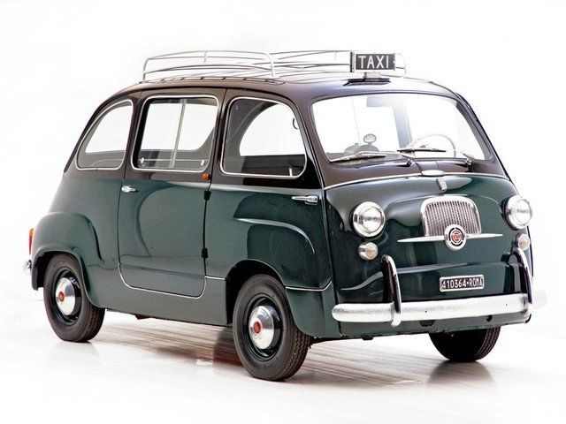 Fiat 600 Multipla WOW! WOW! WOW! YOUR EYES DO NOT DECEIVE YOU!!! PERFECT BALANCE…