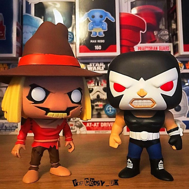 Who do you prefer scarecrow or bane? . . . #funko #funkouk #funkopop #funkomania #funkofamily #funkoaddict #funkos #funkovinyl #funkovinylpop #funkofriends #popvinyl #popvinylfigure #pophunting #nerd #geek #funkoeurope #funkophoto #funkocollector #funkofriends #dc #scarecrow #bane #batman #batmanvillain
