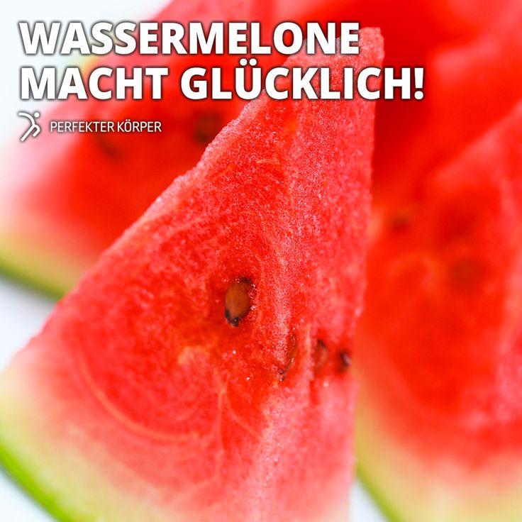 Fruchtig-süßer Durstlöscher    Wassermelonen bestehen aus mehr als 95% Wasser.  Viele A- und C-Vitamine.  Ein hoher Eisenanteil und ein geringer Natriumgehalt, der zusammen mit dem Wasser die Nieren entwässert und reinigt.  Die rote Farbe hat die Wassermelone dem Farbstoff Lycopin zu verdanken. Lycopin wirkt im Körper als ein antioxidativer Radikalfänger, der unser Immunsystem stärkt und unsere Zellen schützt.  Wassermelonen haben kaum Kalorien -24 kcal pro 100 g.