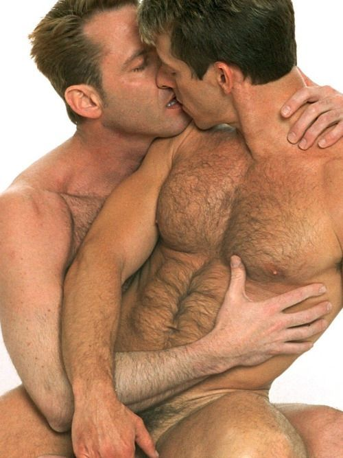 image Hot gay sex they kiss sensuously and gusto