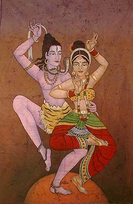 the sacred tantric dance of Shiva and Shakti