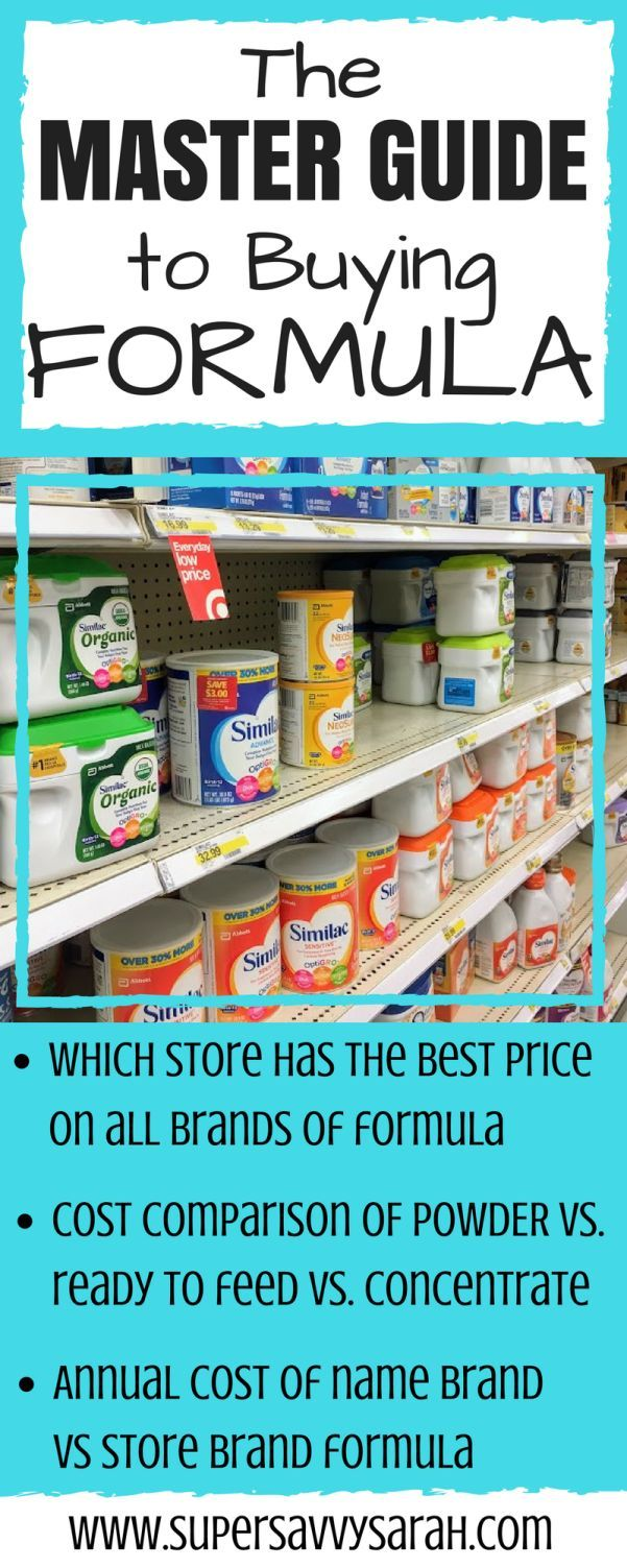 Baby formula can be expensive. You can save money by being educated about baby formula, from what formulation to buy, to what brand, to what size of container.