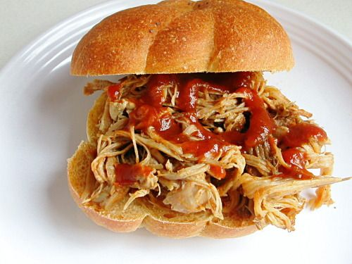 Crockpot Pulled Pork. Sounds REALLY good!!!
