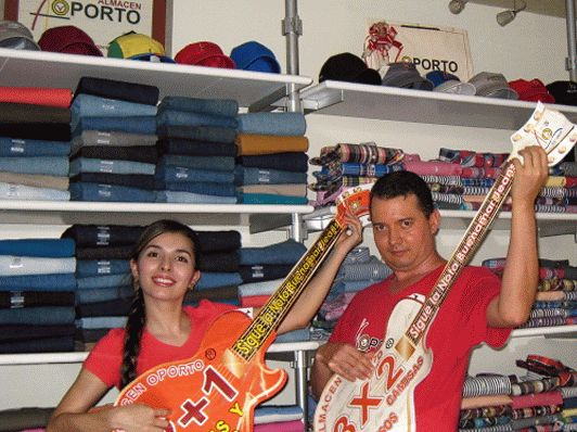 ALMACEN OPORTO: Sigue La Nota BuenaMar Jeans, Música y Jeans