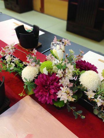 KUKKA design三軒茶屋 和装 花 http://www.kukka-flowers.com/index.html