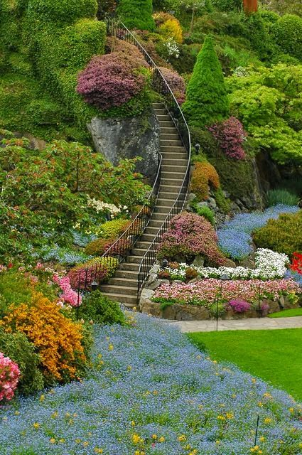Butchart gardens victoria b c i want to visit seattle - Best time to visit butchart gardens ...