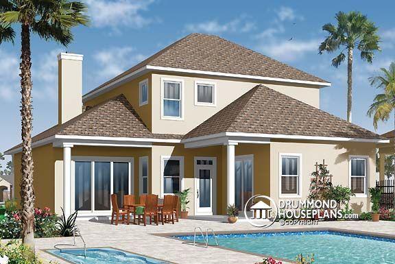 Plano de casa no W3618 de Drummond