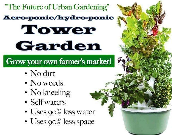 Learn More About The Tower Garden