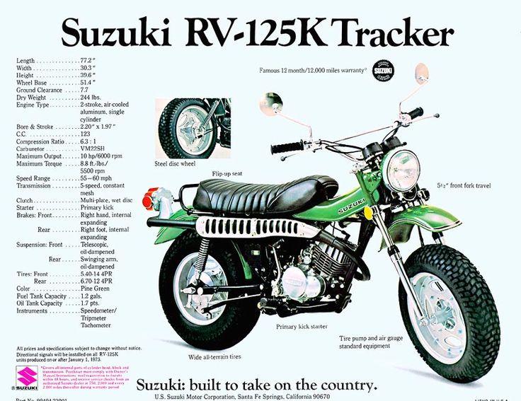 9c6cd84ad7f8af5829c723314fb25f5c suzuki bikes suzuki motorcycle 9 best suzuki rv125 rv 125 images on pinterest rv, biking and 30 Amp RV Wiring Diagram at edmiracle.co