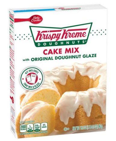 Betty Crocker Krispy Kreme cake mix