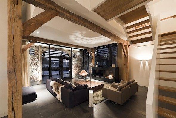 Prachtig wonen in een woonboerderij | Interieur design by nicole & fleur