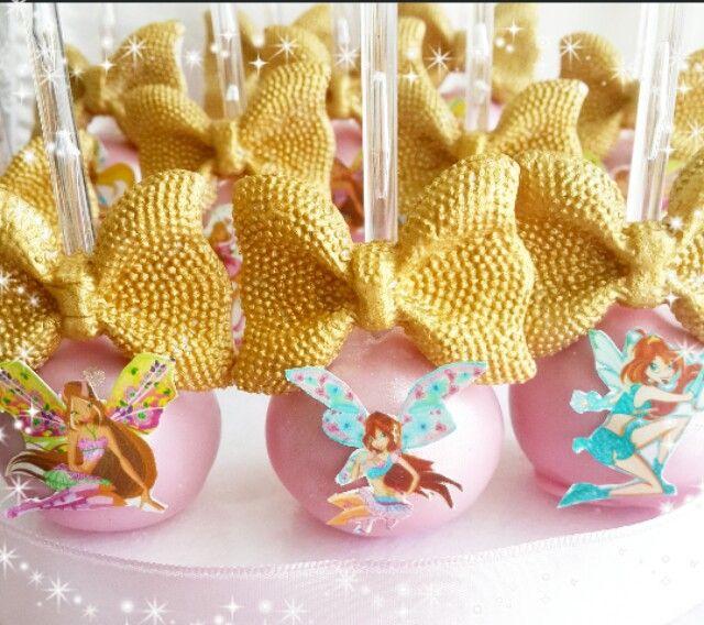 Winx cakepop