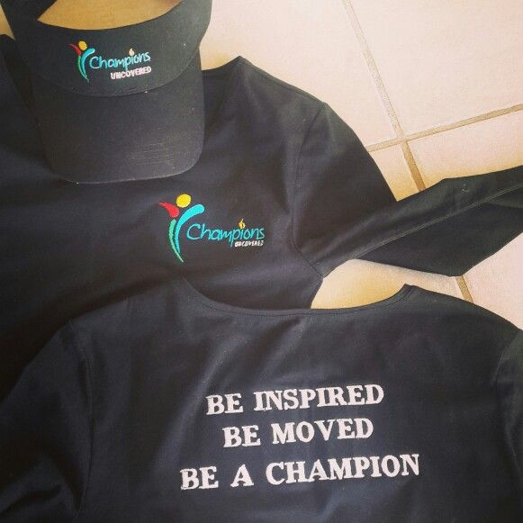 Champions Uncovered clothing and cap www.championsuncovered.com