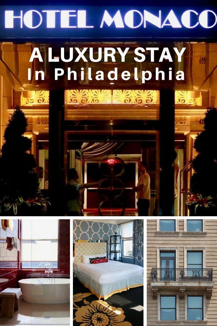 We Enjoyed A Luxury Stay At The Kimpton Monaco Philadelphia Hotel On Trip To Visit