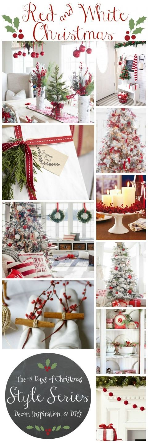 Classic Red u0026 White Christmas Style Series