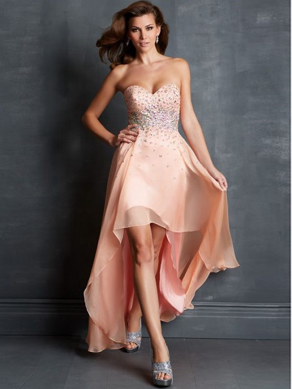 30 best images about High-Low Prom Dresses on Pinterest | Satin ...