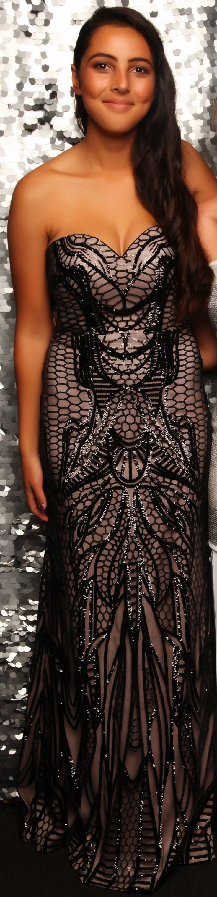Baradene Ball 2016. How incredible is this gown?! www.whitedoor.co.nz