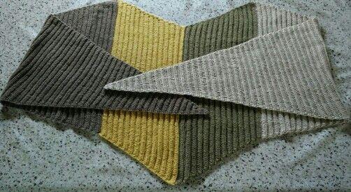 Seagull cotton shawl, 14.01. 2016