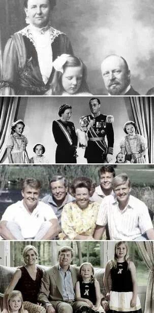 4 royal families van Oranje Nassau