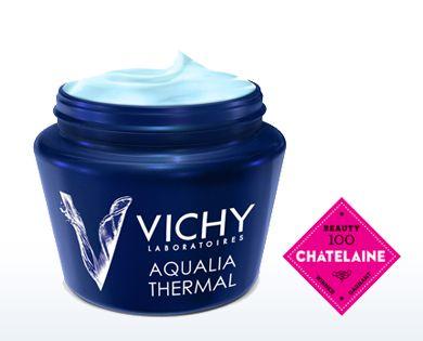 Aqualia Thermal Night Spa - Soothing & Replenishing Skincare - Vichy