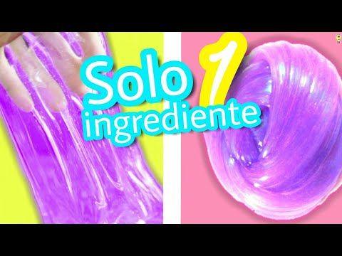 Haz Slime Con Solo 1 Ingrediente Sin Borax Detergente Liquido De Lentes Las Ideas De Como Hacer Slime Casero Cómo Hacer Slime Recetas Para Hacer Slime