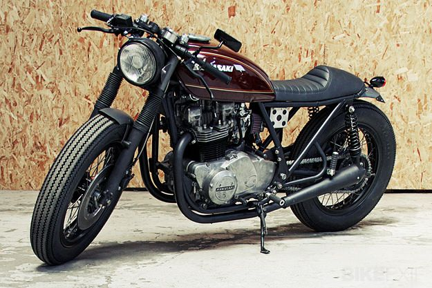 Like all the top custom builders, the Wrenchmonkees have a clear and consistent vision. And this Kawasaki Z750B, bike #45 from the Copenhagen workshop, could be their best yet.