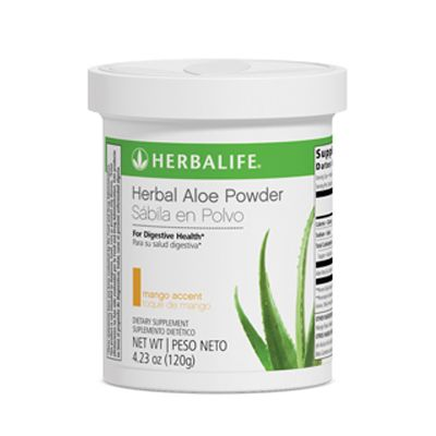 Infos and Orders at: www.goherbalife.com/goherb DIGESTIVE HEALTH: Herbal Aloe Powder: A refreshing aloe powder mix that calms the digestive tract and provides immunity support. Great for on-the-go usage since no refrigeration is required.  Key Benefits: Relieves occasional indigestion  Improves nutrient absorption  Enhances intestinal health  Supports the immune system  Contains antioxidants  ORDER NOW and FEEL THE DIFFERENCE!