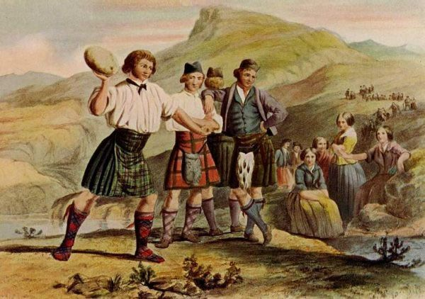 Image result for paintings of highland games | Scottish highland ...