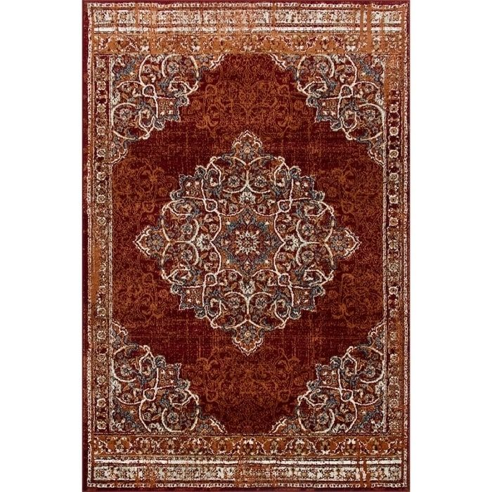Wallington Collection Burgundy Traditional Area Rug 1 10 X 2 11 2 X 3 Red Traditional Area Rugs Accent Colors For Gray Colorful Rugs