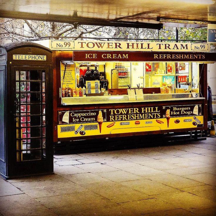 #towerhillstation#london#unitedkingdom#england#redtelephonebox#towerhill#refreshments#towerhilltram by anoushka.desnelle